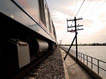 Trem 03 Foto de Stock Royalty Free