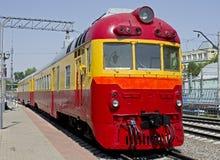 Trem 1 do diesel Fotografia de Stock Royalty Free