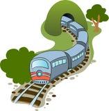 Trem ilustração stock