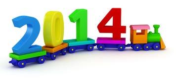 Trem 2014 Imagens de Stock Royalty Free