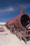 Trem abandonado Imagem de Stock