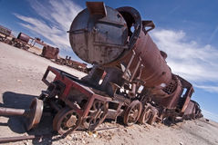 Trem abandonado Foto de Stock