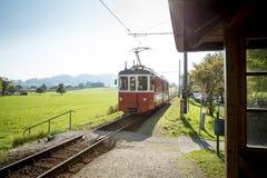 Trem austríaco velho fotografia de stock royalty free