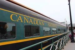Trem canadense imagens de stock