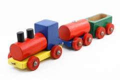 Trem colorido do brinquedo Imagem de Stock