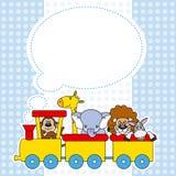 trem com animais Imagem de Stock Royalty Free