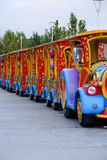 Trem da alegria Imagens de Stock Royalty Free