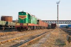 Trem da carga Foto de Stock Royalty Free