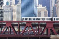 Trem da cidade Imagens de Stock Royalty Free