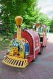Trem da criança no parque fotografia de stock