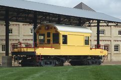 Trem da locomotiva elétrica Fotografia de Stock Royalty Free