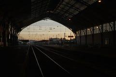 Trem da manhã fotos de stock