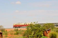 Trem da mercadoria Foto de Stock