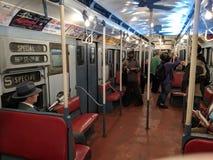 Trem da nostalgia Foto de Stock Royalty Free