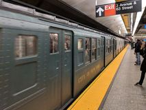 Trem da nostalgia Fotografia de Stock Royalty Free