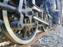 Trem da roda imagem de stock