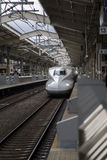 Trem da velocidade de Shinkansen Fotos de Stock Royalty Free