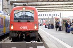 Trem de Ã-BB Fotografia de Stock