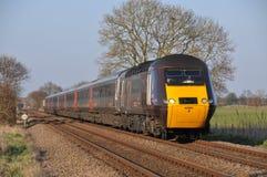 Trem de alta velocidade do corta-mato Fotos de Stock Royalty Free