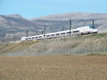 Trem de alta velocidade novo Imagem de Stock