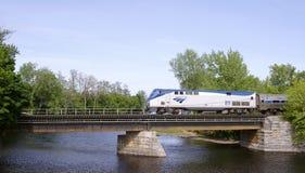 Trem de Amtrak Fotografia de Stock