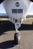 Trem de aterrissagem do avião Foto de Stock