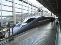 Trem de bala Fotografia de Stock