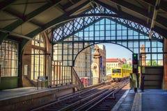 Trem de Berlim U-Bahn Foto de Stock Royalty Free