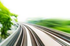 Trem de céu Fotografia de Stock Royalty Free
