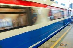Trem de céu fotos de stock