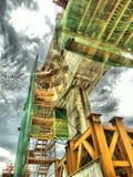 Trem de céu de Banguecoque Imagens de Stock Royalty Free