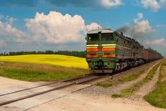 Trem de carvão Imagem de Stock Royalty Free