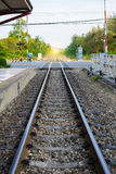 Trem de estrada de ferro do vintage Imagens de Stock Royalty Free