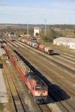 Trem de frete Foto de Stock