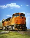 Trem de frete Fotografia de Stock