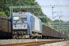 Trem de frete chinês Imagens de Stock Royalty Free