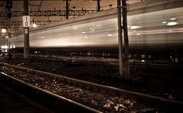 Trem de Ghost Fotografia de Stock