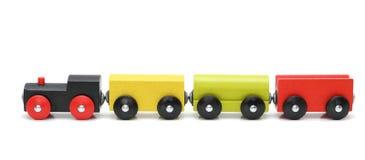 Trem de madeira Foto de Stock
