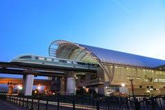 Trem de maglev de Shanghai imagens de stock royalty free