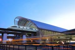 Trem de maglev de Shanghai imagens de stock