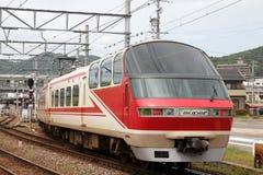 Trem de Meitetsu Fotografia de Stock Royalty Free