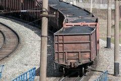 Trem de mercadorias Foto de Stock