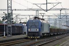 Trem de mercadorias de HeXie do chinês Imagem de Stock