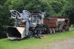 Trem de mineração Fotografia de Stock