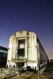 Trem de noite Fotografia de Stock