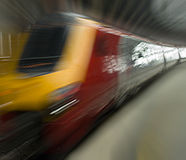 Trem de pressa Imagem de Stock