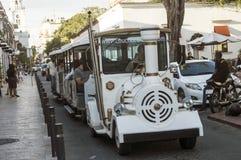 Trem de Touris em Santo Domingo, República Dominicana Fotos de Stock Royalty Free
