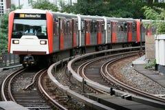 Trem de U Fotografia de Stock