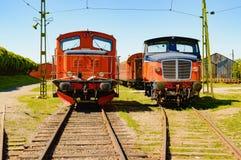 Trem diesel fotos de stock royalty free
