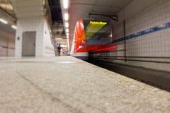 Trem do aeroporto Imagem de Stock